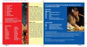Locked In (2008) CD Programme (2)
