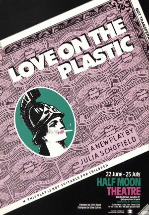 Love on the Plastic flyer front