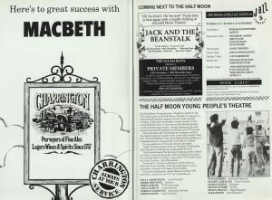 Macbeth Programme (2)