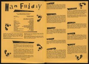 Man Friday Programme (2)