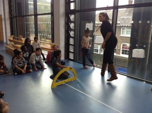 Aladdin and Angle Measuring - Marner Primary School, Autumn 2014
