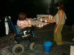 Mermaid and the Mirror Costume and Set Building (8)
