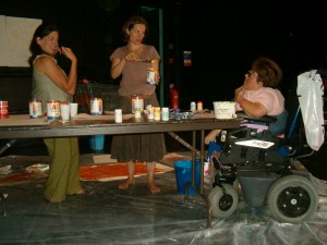 Mermaid and the Mirror Costume and Set Building (7)