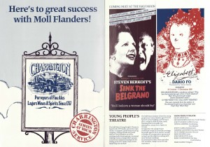 Moll Flanders Programme (2)