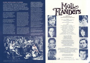 Moll Flanders Programme (3)