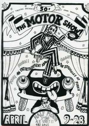 The Motor Show - Flyer