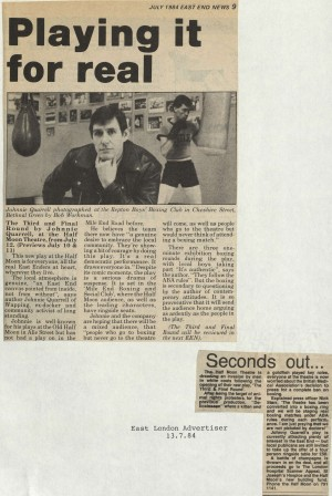 East London Advertiser, July 1984