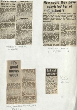 Delicatessen News Articles on Catnap at Half Moon Theatre - Hackney Gazette, Daily Mirror, East London Advertiser