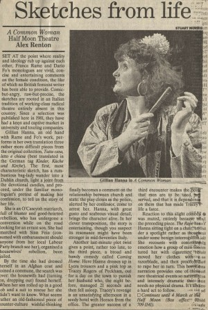 Alex Renton, The Independent, Friday 10 February 1989
