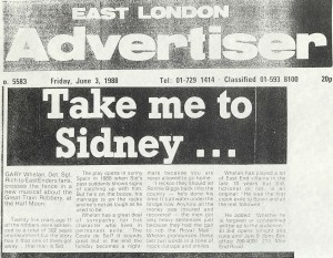 East London Advertiser, 3rd June 1988