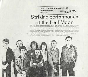 East London Advertiser, April 1976
