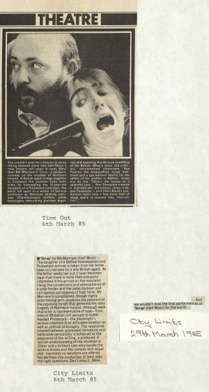 Time Out and City Limits, March 1985