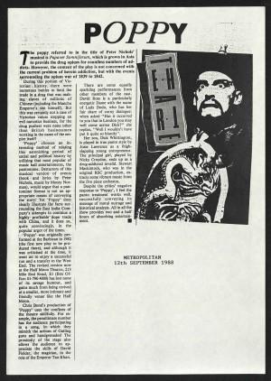 Metropolitan, 12 September 1988