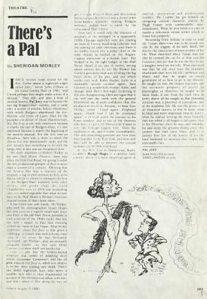 Sheridan Morley, Punch, 13 August 1980