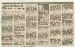 The Indepedant, 6 November 1986
