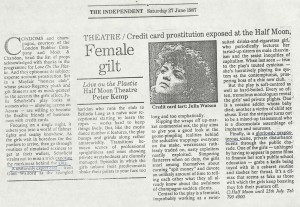 Peter Kemp, The Independant, 27 June 1987