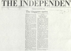 Alex Renton, The Independent, 10 June 1988