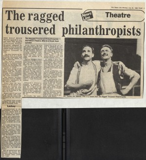 The Ragged Trousered Philanthropist News Review - The News Line, 25th July 1983