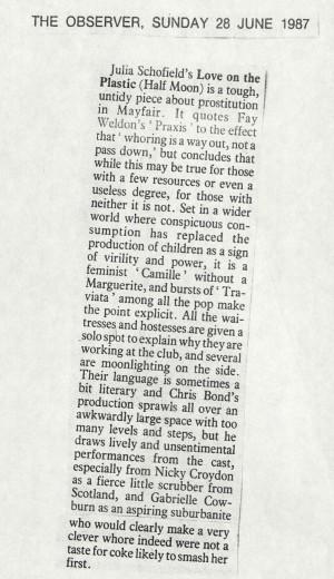 The Observer, 28 June 1987