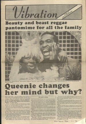 Ruby Ofori, West Indian News, 7 January 1987