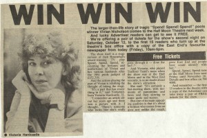 East London Advertiser, 4 Oct 1985