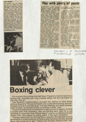The Third and Final Round News Reviews - June 1984
