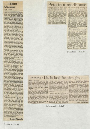News Delicatessen News Reviews - May 1985 - Delicatessen