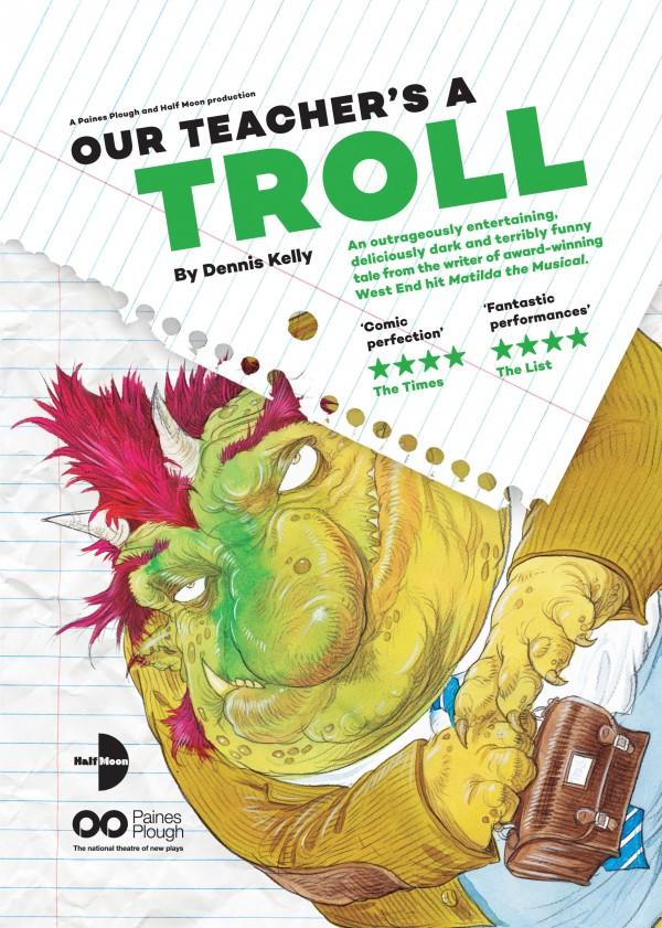Our Teacher's A Troll Flyer (Front)