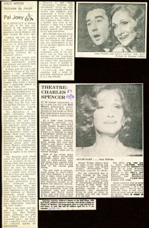 Pal Joey Collection of Reviews