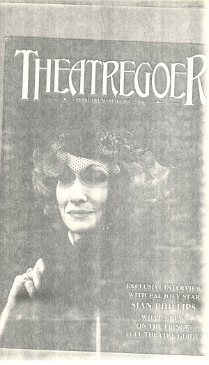 Pal Joey Interview with Sian Phillips - Theatre Goer, Feb-Mar 1981 (1)