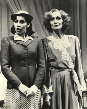 Sian Phillips in Pal Joey.