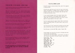 Pal Joey - original Half Moon programme 3