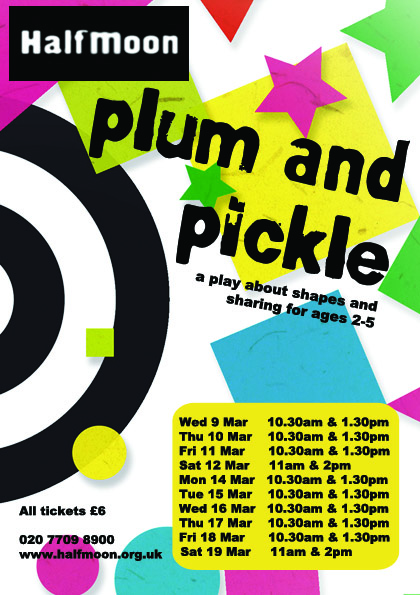 Plum And Pickle Flyer Image (Front)