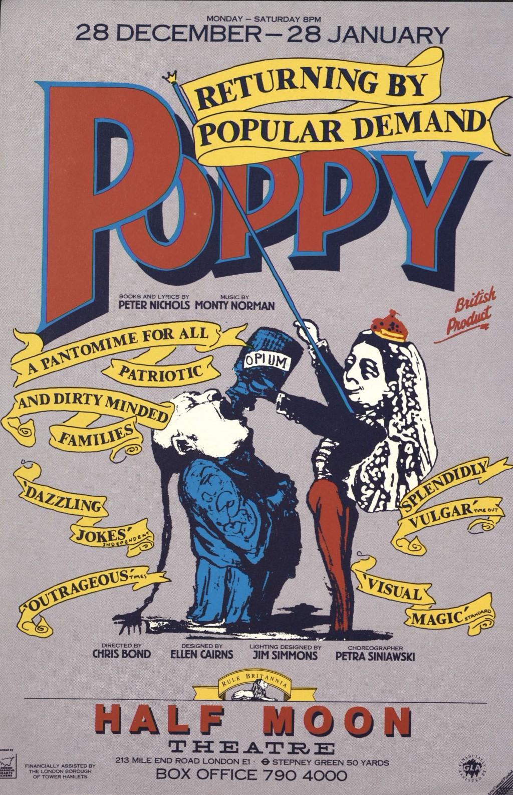 Poppy Flyer Poster