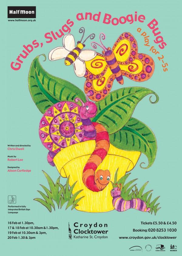 Grubs, Slugs and Boogie Bugs Flyer Image