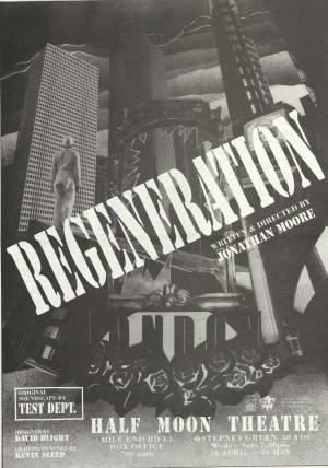 Regeneration Poster B&W 1989