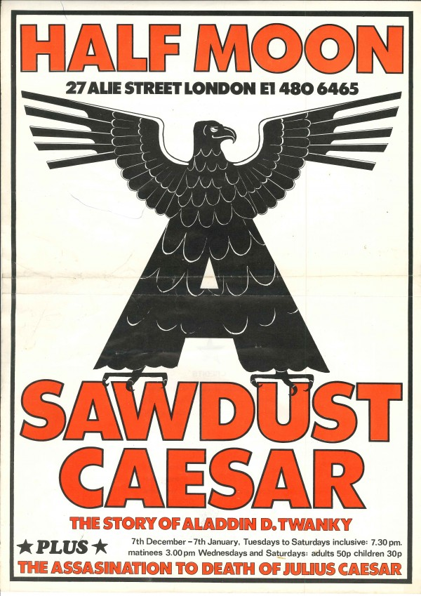 Sawdust Caesar poster