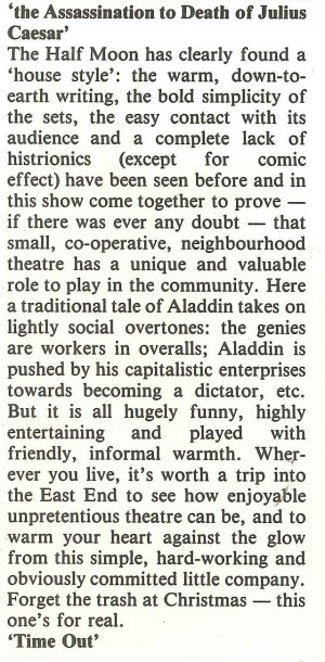 Time Out review