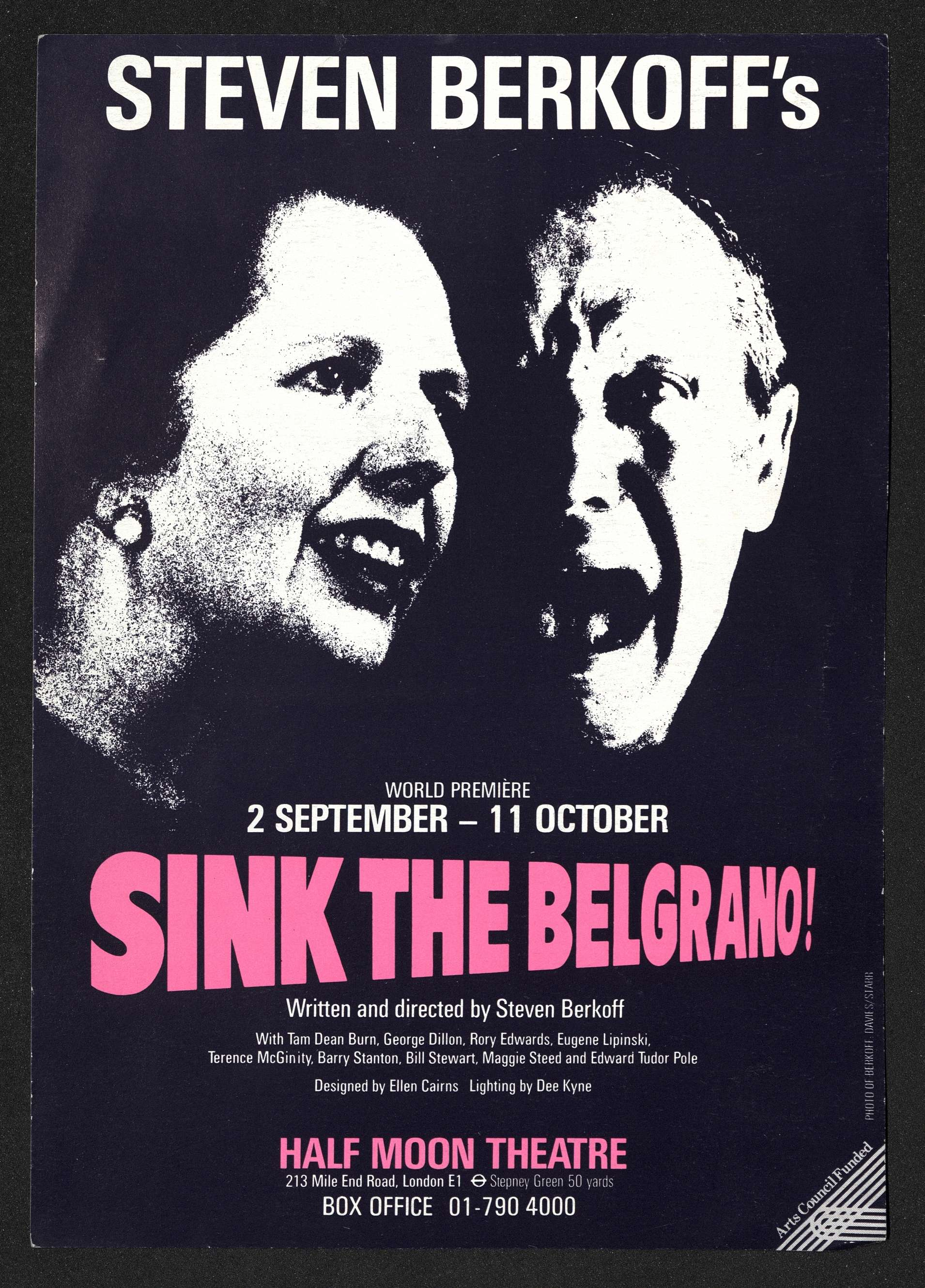 Sink the Belgrano! Flyer (1)