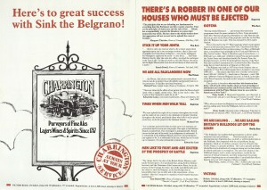 Sink the Belgrano! Programme (2)