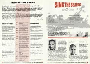 Sink the Belgrano! Programme (3)