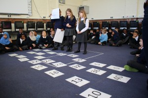 Hansel and Gretel and Number Sequences - Snowsfields and Tower Bridge Primarys, Autumn 2014