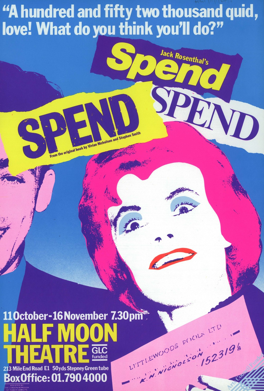 Spend Spend Spend Poster (2)
