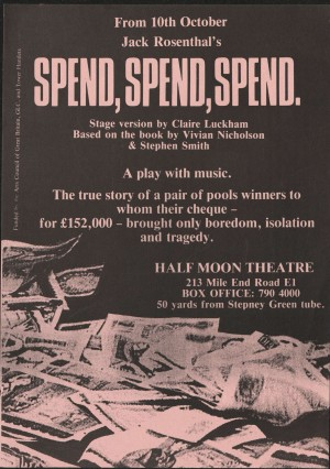 Spend spend Spend Poster (3)