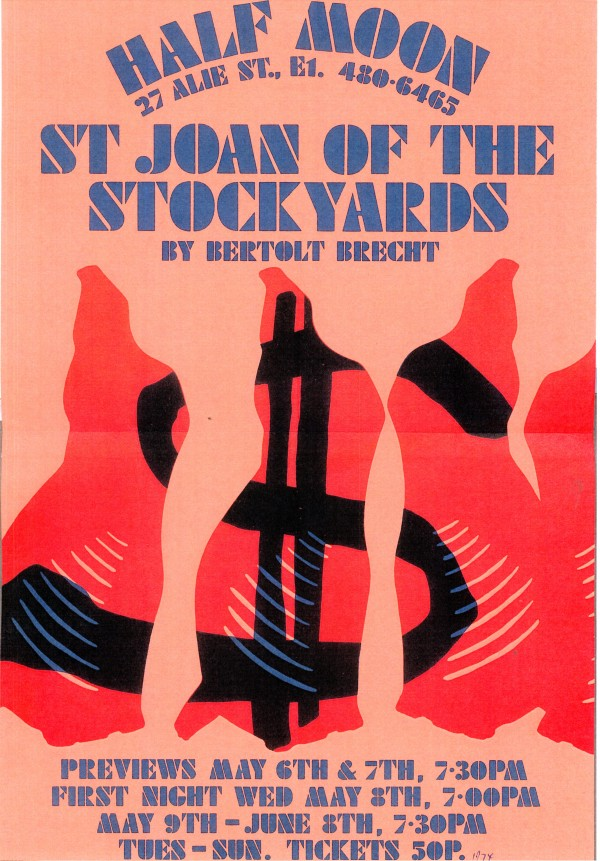 St Joan of the Stockyards - Poster