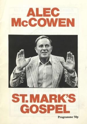 St. Mark's Gospel 2nd Programme (1)