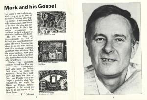 St. Mark's Gospel 2nd Programme (3)