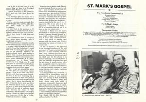 St. Mark's Gospel 2nd Programme (7)
