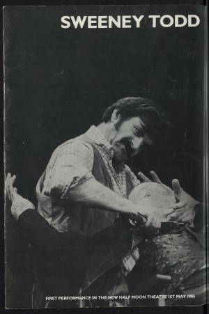 Sweeney Todd Programme (1)