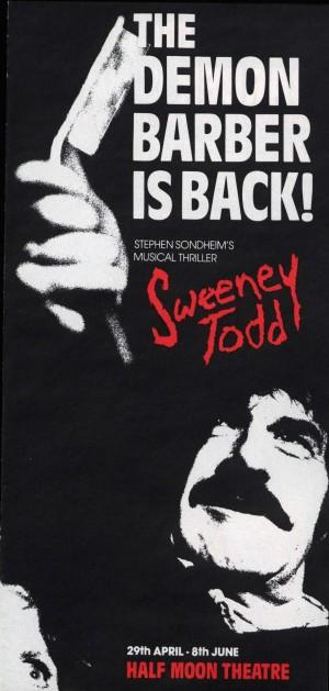 Sweeney Todd flyer 2